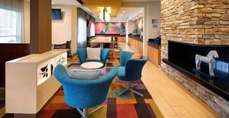 Fairfield Inn and Suites by Marriott Indianapolis Airport - אינדיאנאפוליס - לובי