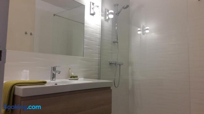 Hôtel les Aubépines - Illiers-Combray - Bathroom