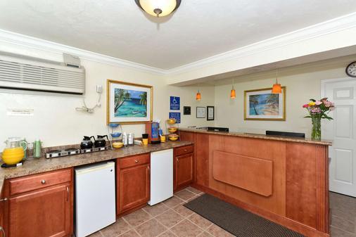 Americas Best Value Inn Bradenton Sarasota - Bradenton - Front desk