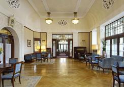 Hotel Waldhaus - Sils im Engadin/Segl - Σαλόνι ξενοδοχείου