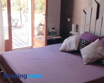 La chambre mauve - Cairanne - Bedroom