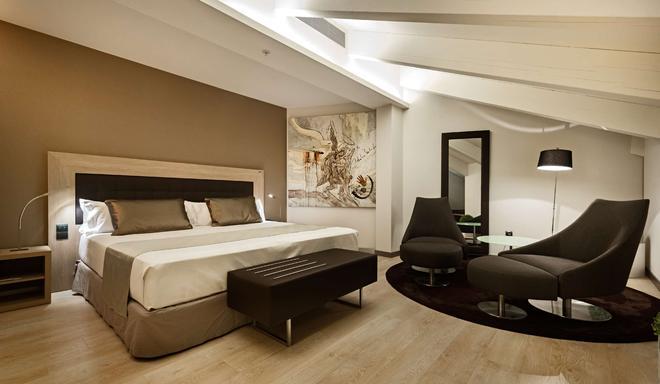Catalonia Plaza Mayor - Madrid - Bedroom