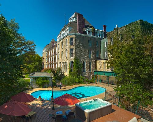 The Crescent Hotel And Spa - Eureka Springs - Πισίνα