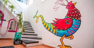 Taiyari Hostal - Monterrei - Escadas
