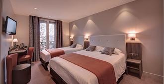 Hôtel Du Midi Paris Montparnasse - פריז - חדר שינה