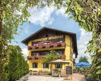 Landgasthof Hotel Röfleuten - Pfronten - Edificio