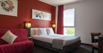 The Originals City, Hôtel Pont Rouge, Carcassonne - Carcassonne - Bedroom