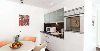 Domicil Residenz Hotel Bad Aachen - Aachen - Kitchen