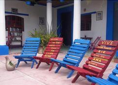 Hostal La Casa de Paco - San Cristóbal de las Casas - Bedroom