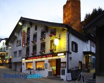 Gasthaus Pension zum Turm - Hospental - Building