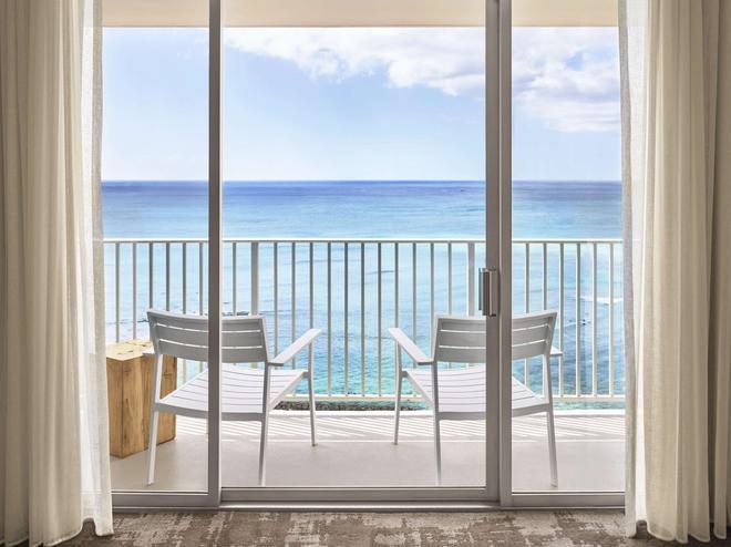 太平洋海灘酒店 - 檀香山 - 檀香山 - 陽台