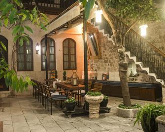 Mahallem Hotel - Antakya - Patio