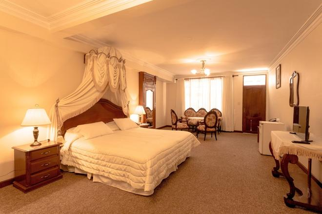Hotel Independencia - Sucre - Makuuhuone
