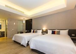 F Hotel Luzhou Taipei - Taipé - Quarto