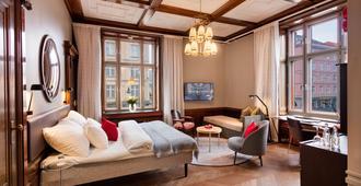 بيرجين بورس هوتل - بيرغن - غرفة نوم