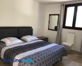 Chambres Dhotes Corse - Venaco - Schlafzimmer