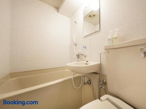 綠色涼棚酒店 - 仙台 - 仙台 - 浴室