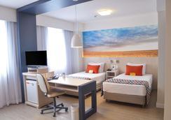 Comfort Suites Alphaville - Barueri - Schlafzimmer