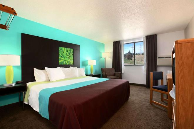 Super 8 by Wyndham Rapid City Rushmore Rd - Rapid City - Κρεβατοκάμαρα