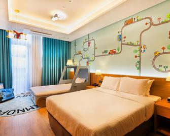 Militopia Hotel - Seongnam - Спальня