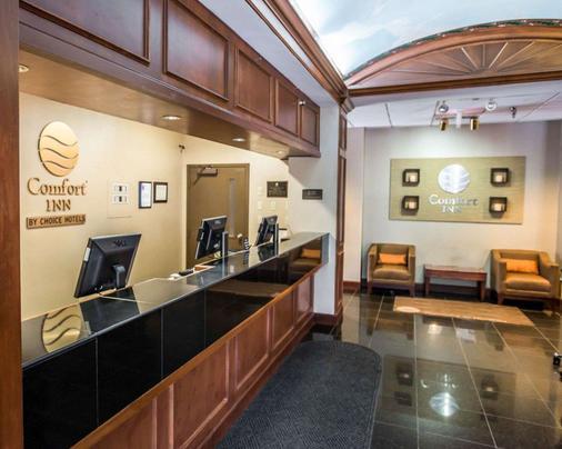Comfort Inn at the Park - Hummelstown - Front desk