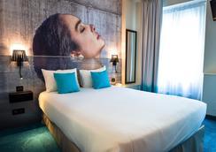 Citotel Le Bord'o - La Rochelle - Bedroom