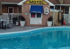 Coral Sands Motel - Сисайд-Хайтс - Бассейн
