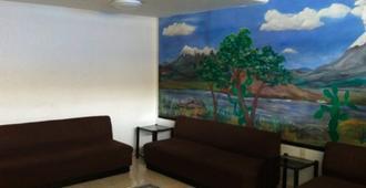 Hotel Dos Naciones - Ciudad de México - Sala de estar