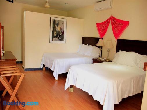Hotel Zamna - Mérida - Schlafzimmer