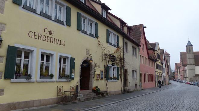 Hotel Gerberhaus - Rothenburg ob der Tauber - Rakennus