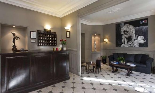 Hotel De La Porte Dorée - Paris - Rezeption