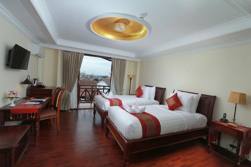 Phasouk Vien Chantra Hotel - Vientiane - Bedroom