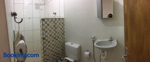 Pousada Trilha do Velho Chico - Piranhas - Bathroom