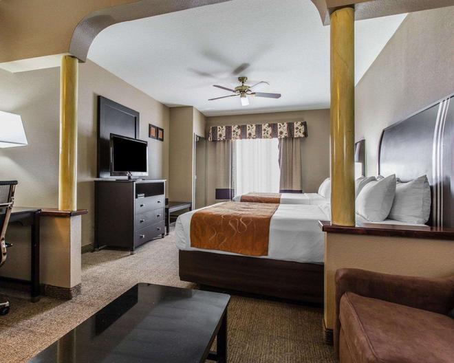 Comfort Suites Bakersfield - Bakersfield - Makuuhuone