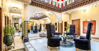 馬拉喀什里酒店與里亞德藝術廣場 - 馬拉喀什 - 馬拉喀什 - 大廳