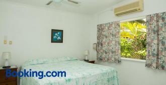 日天堂海灘簡易別墅酒店 - 拉羅東加島 - 臥室