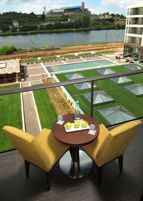 科英布拉風別墅酒店 - 科印布拉 - 科英布拉 - 陽台