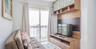 Ab132a 2 Bedroom Near Anhembi up to 5! - סאו פאולו - סלון
