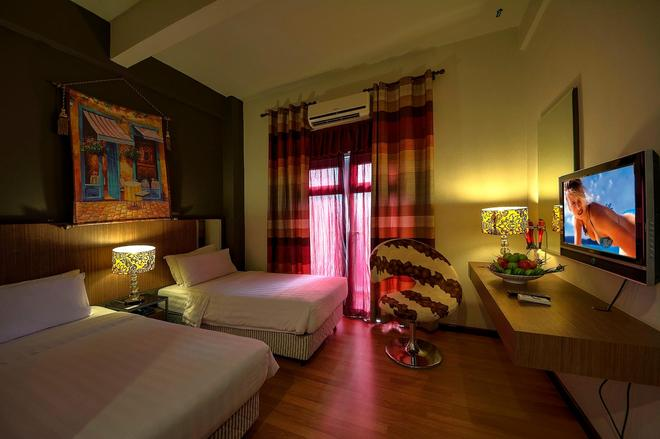 Arenaa Deluxe Boutique Hotel - Malacca - Bedroom