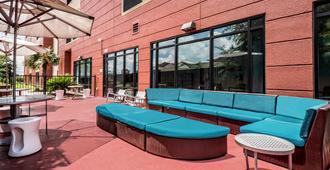SpringHill Suites by Marriott San Antonio Airport - San Antonio - Innenhof