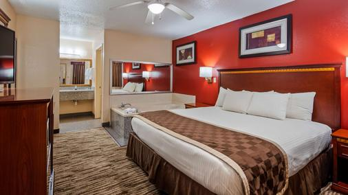 Best Western Executive Inn - Marshall - Schlafzimmer