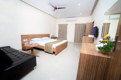 泰姬瑪哈阿比茲酒店 - 海德拉巴 - 海得拉巴 - 臥室
