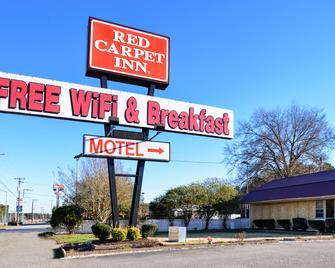 Red Carpet Inn Battleboro - Battleboro - Gebäude