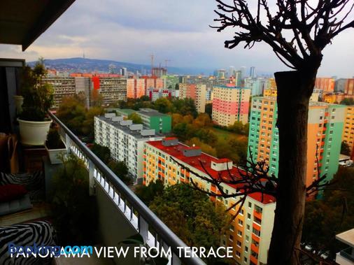 Pull Studio Hostel - Bratislava - Balcony