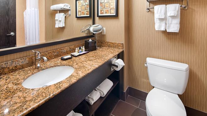 最佳西方精品及套房自由港酒店 - 卡加立 - 卡爾加里 - 浴室