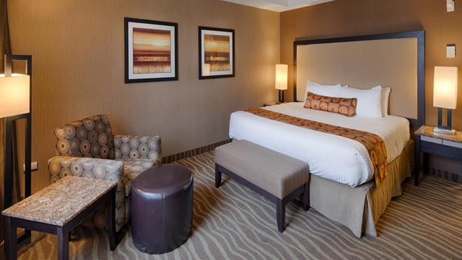 最佳西方精品及套房自由港酒店 - 卡加立 - 卡爾加里 - 臥室