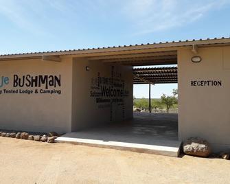Blue Bushman Luxury Tented Lodge - Kamanjab - Outdoors view