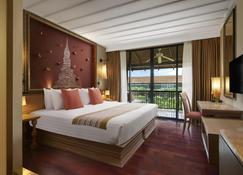 各式酒店集團之素可泰傳統渡假村 - 宋膠洛 - Sawankhalok/沙旺卡洛克 - 臥室