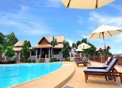 Arawan Riverside Hotel - Pakse - Pool