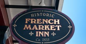 French Market Inn - New Orleans - Building